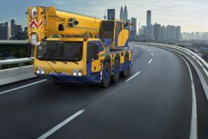 Macara mobila 55 to Demag AC55-3