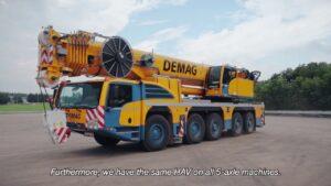 Macara 250 tone Demag AC250-5