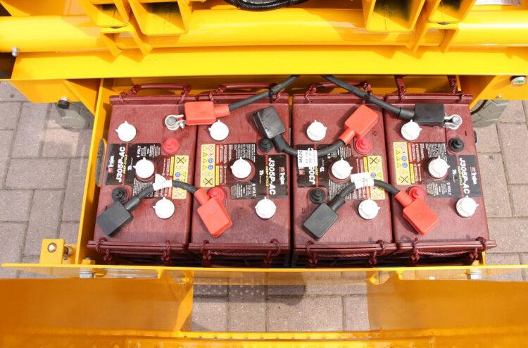 incarcare baterii nacela